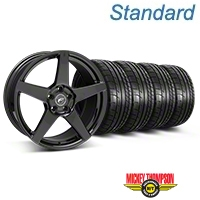 Forgestar CF5 Piano Black Wheel & Mickey Thompson Tire Kit - 20x9 (05-14 All) - Forgestar KIT||29876||79541