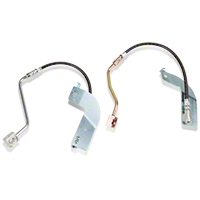 J&M Stainless Steel Teflon Brake Lines - Rear w/ ABS (99-04 GT, V6, Mach 1) - J&M 22522