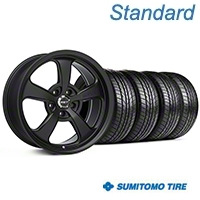Mickey Thompson SC-5 Flat Black Wheel & Sumitomo All Season Tire Kit - 17x9 (99-04 All) - Mickey Thompson KIT||101928||63030