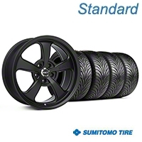 Mickey Thompson SC-5 Flat Black Wheel & Sumitomo Tire Kit - 17x9 (99-04 All) - Mickey Thompson KIT||101928||63001