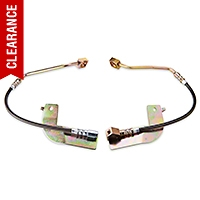 J&M Stainless Steel Teflon Brake Lines - Rear w/o ABS (99-04 GT, V6, Mach 1) - J&M 22523