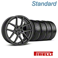 MMD Zeven Charcoal Wheel & Pirelli Tire Kit - 19x8.5 (05-14 All) - MMD KIT||101913||63101