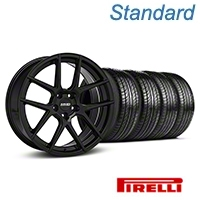 MMD Zeven Black Wheel & Pirelli Tire Kit - 19x8.5 (05-14 All) - MMD KIT||101915||63101