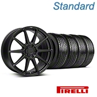 Niche Essen Matte Black Wheel & Pirelli Tire Kit 19x8.5 (05-14 All) - Niche KIT||101773||63101