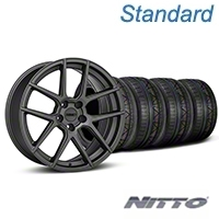 MMD Zeven Charcoal Wheel & NITTO INVO Tire Kit - 19x8.5 (05-14 All) - MMD KIT||101913||79521