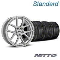 MMD Zeven Silver Wheel & NITTO INVO Tire Kit - 19x8.5 (05-14 All) - MMD KIT||101917||79521