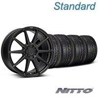 Niche Essen Matte Black Wheel & NITTO INVO Tire Kit 19x8.5 (05-14 All) - Niche KIT||101773||79521