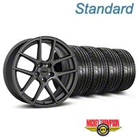 MMD Zeven Charcoal Wheel & Mickey Thompson Tire Kit - 19x8.5 (05-14 All) - MMD KIT||101913||79539