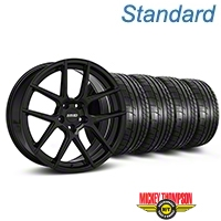 MMD Zeven Black Wheel & Mickey Thompson Tire Kit - 19x8.5 (05-14 All) - MMD KIT||101915||79539