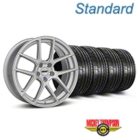 MMD Zeven Silver Wheel & Mickey Thompson Tire Kit - 19x8.5 (05-14 All) - MMD KIT||101917||79539