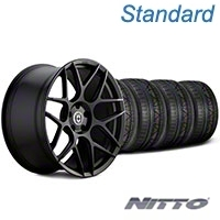HRE Flowform FF01 Tarmac Black Wheel & NITTO INVO Tire Kit - 20x9.5 (05-14 All) - HRE KIT||101857||79524