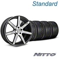 Niche Verona Black Double Dark Wheel & NITTO INVO Tire Kit - 20x9 (05-14 All) - Niche KIT||101785||79524