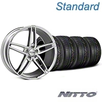 Foose Stallion Chrome Wheel & NITTO INVO Tire Kit - 20x8.5 (05-14 All) - Foose KIT||101787||79524