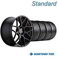 HRE Flowform FF01 Tarmac Black Wheel & Sumitomo Tire Kit - 20x9.5 (05-14 All) - HRE KIT||101857||63024