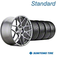 HRE Flowform FF01 Liquid Silver Wheel & Sumitomo Tire Kit - 20x9.5 (05-14 All) - HRE KIT||101859||63024