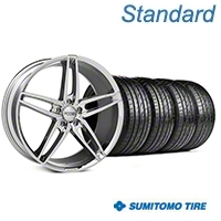 Foose Stallion Chrome Wheel & Sumitomo Tire Kit - 20x8.5 (05-14 All) - Foose KIT||101787||63024