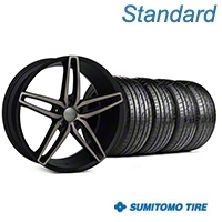 Foose Stallion Double Dark Wheel & Sumitomo Tire Kit - 20x8.5 (05-14 All) - Foose KIT||101789||63024