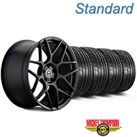 HRE Flowform FF01 Tarmac Black Wheel & Mickey Thompson Tire Kit - 20x9.5 (05-14 All) - HRE KIT||101857||79541