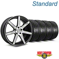 Niche Verona Black Double Dark Wheel & Mickey Thompson Tire Kit - 20x9 (05-14 All) - Niche KIT||101785||79541