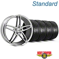 Foose Stallion Chrome Wheel & Mickey Thompson Tire Kit - 20x8.5 (05-14 All) - Foose KIT||101787||79541