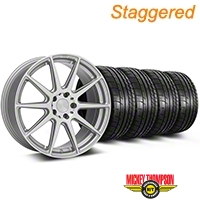 Niche Staggered Silver Essen Wheel & NITTO INVO Tire Kit 19x8.5/10 (05-14 All) - Niche KIT||101777||101778||79539||79540