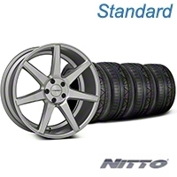 Silver Polished CV7 Wheel & NITTO INVO Tire Kit - 20x9 (05-14 All) - Vossen KIT||102170||79524