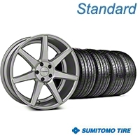 Silver Polished CV7 Wheel & Sumitomo Tire Kit - 19x8.5 (05-14 All) - Vossen KIT||102168||63036