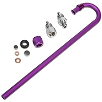 ZEX Nitrous Safety Blow Down Kit w/ 2 Fittings (79-12 All) - ZEX ZEX-82099
