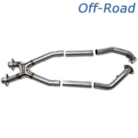 Bassani Off-Road X-pipe - Manual (99-04 GT; 99-01 Cobra) - Bassani 46992