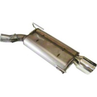 Bassani Axle-Back Exhaust (05-09 V6) - Bassani 40055