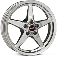 Race Star Drag Wheel - Direct Drill - 17x4.5 (94-04 All) - Race Star 92-745342DP