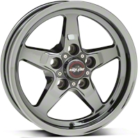 Dark Star Drag Wheel - Uni-Lug - 15x3.75 (94-04 GT, V6) - Race Star Industries 92-537340D