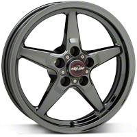 Dark Star Drag Wheel - Uni-Lug - 17x4.5 (05-14 GT, V6) - Race Star 92-745342D