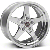 Race Star Drag Wheel - Uni-Lug - 17x9.5 (94-04 V6, GT) - Race Star 92-795349P