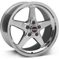 Race Star Drag Wheel - Uni-Lug - 17x9.5 (05-14 GT, V6) - Race Star 92-795353P