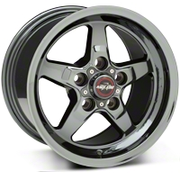 Dark Star Drag Wheel - Uni-Lug - 17x9.5 (05-14 GT, V6) - Race Star 92-795353DS
