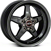 Race Star Dark Star Drag Wheel - Direct Drill - 15x8 (94-04 GT, V6) - Race Star 92-580350DSD
