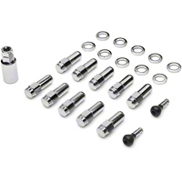 Race Star Direct Drill Closed End Lug Nut Kit - 10 Lugs (94-14) - Race Star 601-1416 D-10