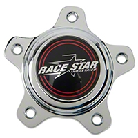 Race Star Chrome Center Cap - Short - Race Star 615-5096-1