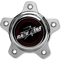Race Star Chrome Center Cap - Tall - Race Star 615-5095-1