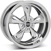 Chrome Bullitt Wheel & NITTO Tire Kit - 18x9 (10-12)