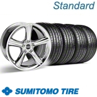 Chrome GT Premium Wheel & Sumitomo Tire Kit - 19x8.5 (10-12)
