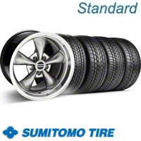 Hypercoated Bullitt Wheel & Sumitomo Tire Kit - 17x9 (99-04)