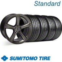 Hypercoated 2010 Style GT Premium Wheel & Sumitomo Tire Kit - 19x8.5 (99-04)