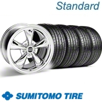 Chrome Bullitt Wheel & Sumitomo Tire Kit - 20x8.5 (10-12)
