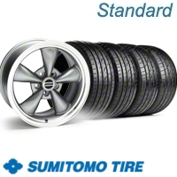 Anthracite Bullitt Wheel & Sumitomo Tire Kit - 20x8.5 (10-12)