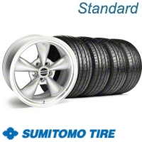 Silver Bullitt Wheel & Sumitomo Tire Kit - 17x8 (10-12)
