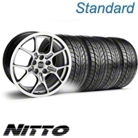 Hypercoated GT4 Wheel & NITTO Tire Kit - 18x9 (10-12)