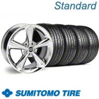 Chrome 2010 OE Style Wheel & Sumitomo Tire Kit - 18x8 (10-12)