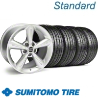 Silver 2010 OE Style Wheel & Sumitomo Tire Kit - 18x8 (10-12)